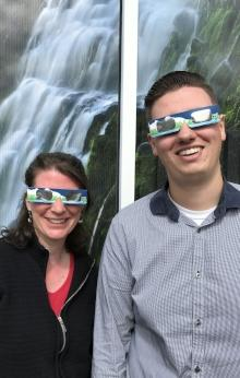 Modeling Solar Eclipse Safety Glasses by Taj Morgan