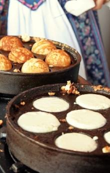 Aebleskivers by Lisel Hilson