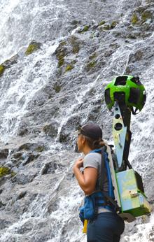 Google Trekking Diamond Falls