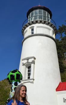 Google Trekking Heceta Head Lighthouse