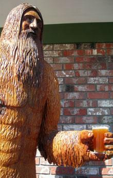 Big Foot with Beer by Cari Garrigus