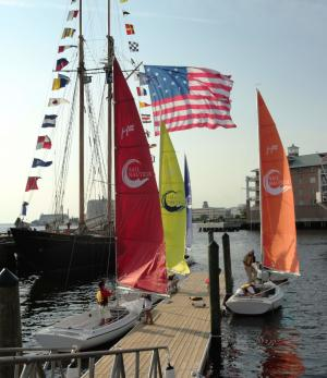 Sail Norfolk flags