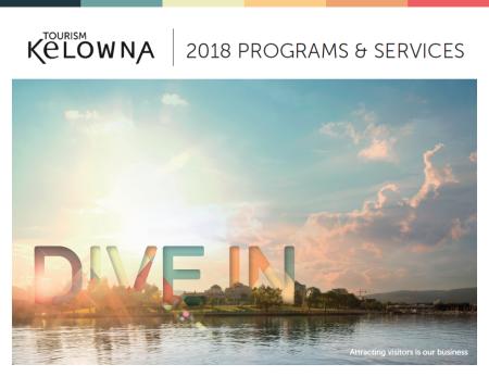 2018 Programs & Services Cover