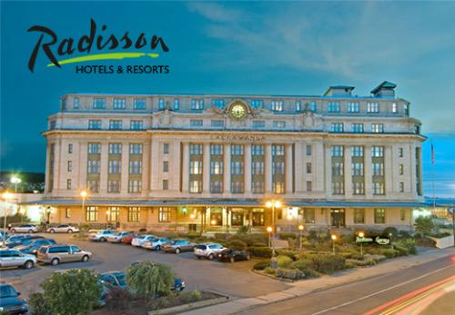 Radisson Hotels & Resorts in Scranton, PA, in Lackawanna County.