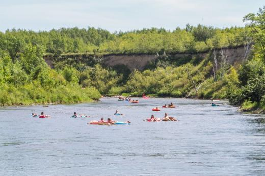Rainbow Trout Musical Festival in Roseau River