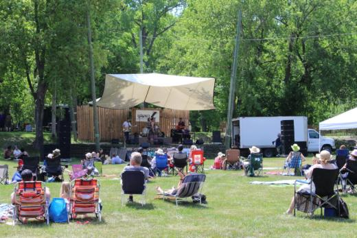 Back 40 Folk Festival in Morden, Manitoba