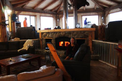 Lounge at Seal River Heritage Lodge