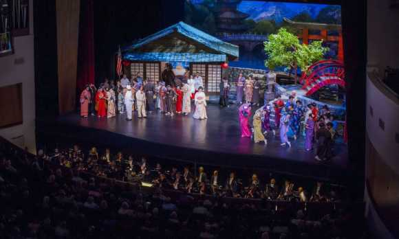 OperaSLO Production of Madama Butterfly