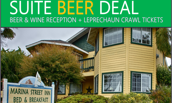 St. Patrick's Day Suite Beer Deal