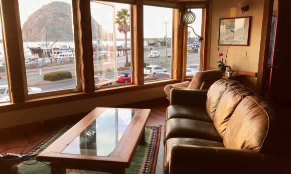 Front Street Inn - Room view of the rock