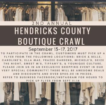 Hendricks County Boutique Crawl 2017