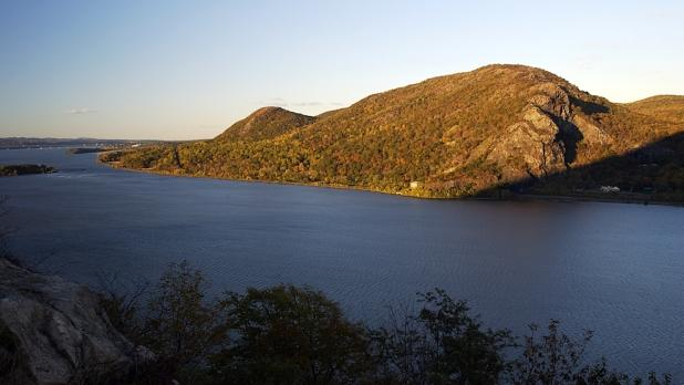 View of Breakneck Ridge-Hudson from Storm King Mountain