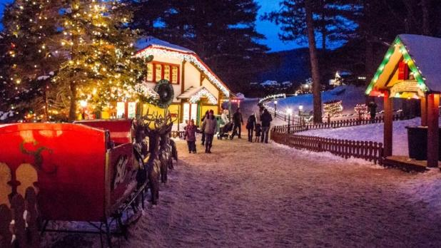 Village of Lights at the North Pole