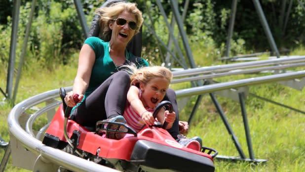 Holiday Valley Mountain Coaster