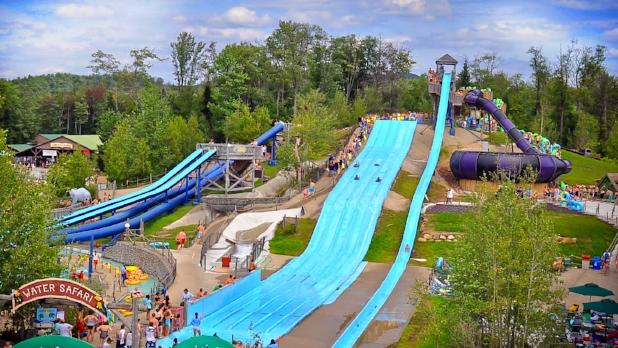 Water Safari Overview Photo Courtesy of Enchanted Forest Water Safari