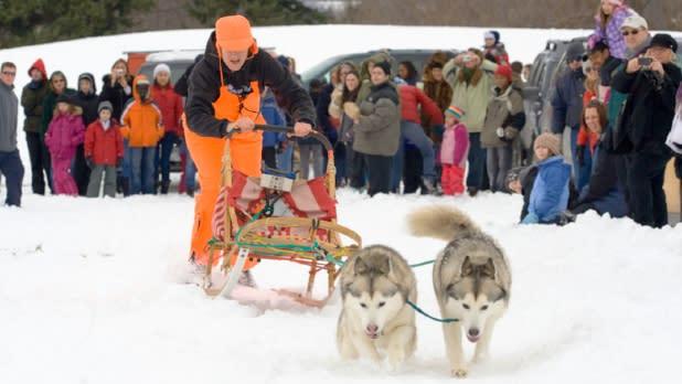 Ganondagan's Native American Winter Games