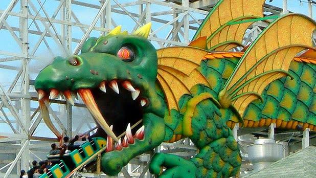 Playland Dragon Coaster