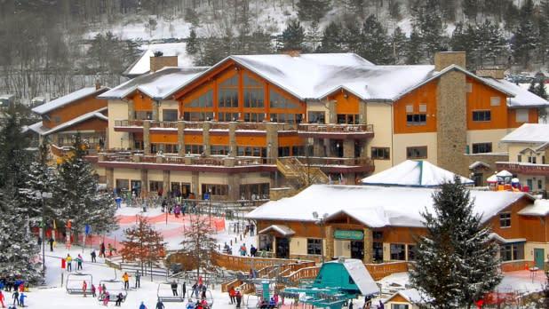Holiday valley winter carnival snowbar