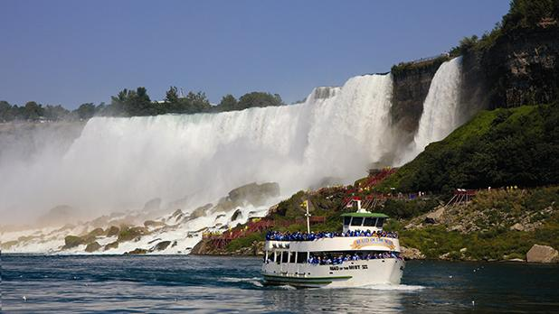 Maid of the Mist - Photo Courtesy Niagara USA Tourism & Convention
