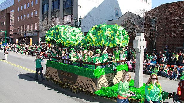 Syracuse St Patrick Day Parade - Photo by James Cahill