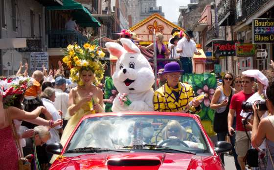 Chris Owens Easter Parade