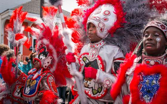 Mardi Gras Indians Super Sunday