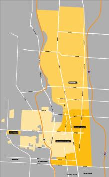 Campus Neighborhood Map