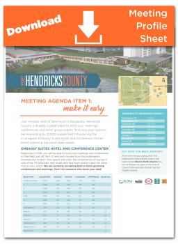 Download the Hendricks County Meetings Profile Sheet