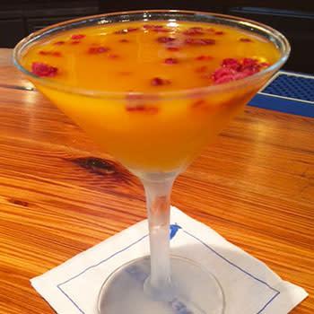 Mango Martini at Martini 494