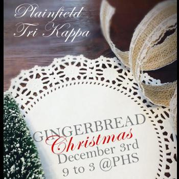 Plainfield Tri Kappa Gingerbread Christmas 2016