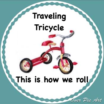 The Traveling Tricycle Market rolls into Danville on Saturday.