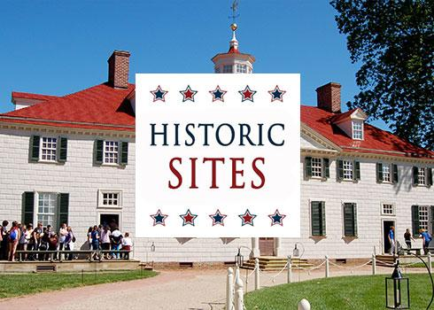Historic Sites - Spring Landing Page
