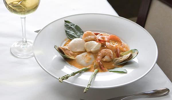 Asparagus Seafood Panang