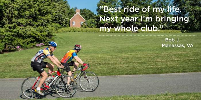 Gran Fondo Image with Quote