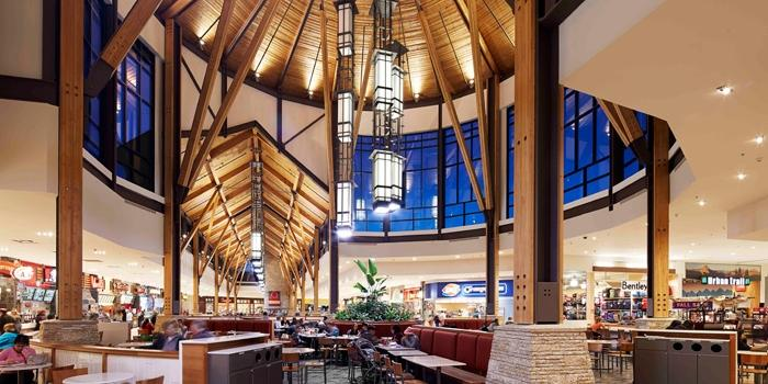 Food court of St. Vital Centre