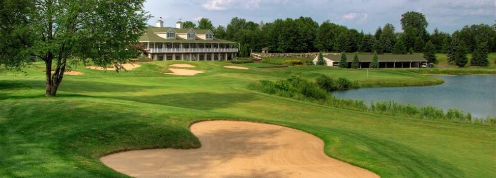 Hawk Hollow Golf Hole Number 18