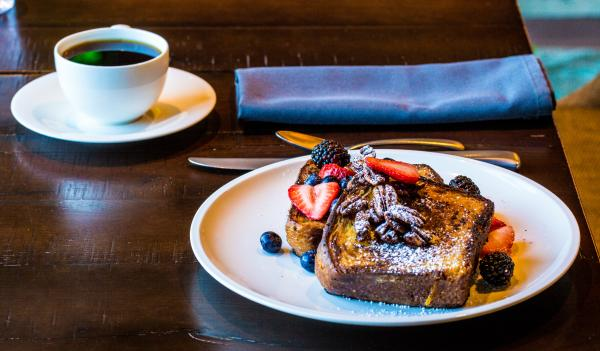 Brioche French Toast at Geraldines