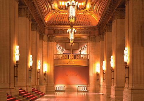 Civic Opera House - interior