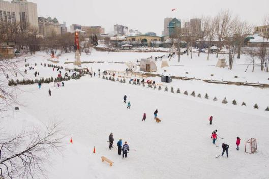 The Forks River Trail Skating