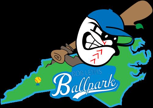 Bob Lewis Ballpark logo