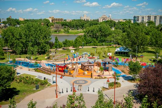 The Forks Heritage Playground