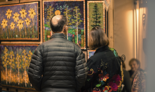 Art Crawl at Banbury Place in Eau Claire, Wisconsin