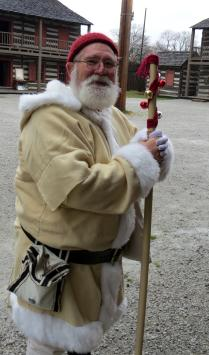 Historical Interpreter at Old Fort for Christmas