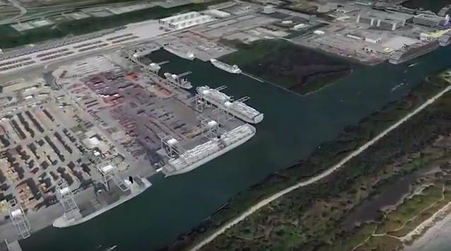 aerial image of planned construction in Southport