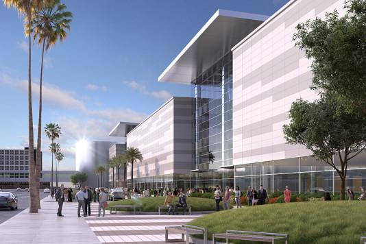 Rendering of potential expansion of the Las Vegas Convention Center