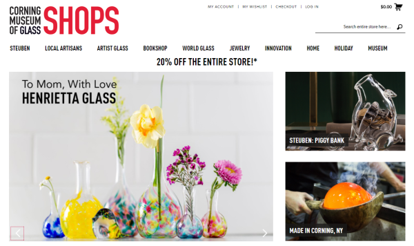 The Shops at CMOG Online