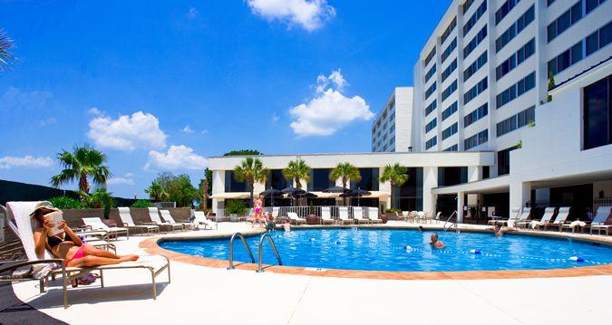 Pool view of the new Hotel Ballast