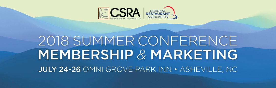 CSRA 2018 conference
