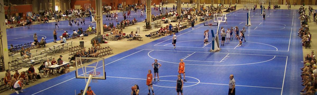 Basketball at the PA Farm Show Complex and Expo Center