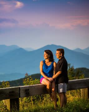 Couple - Blue Ridge Parkway